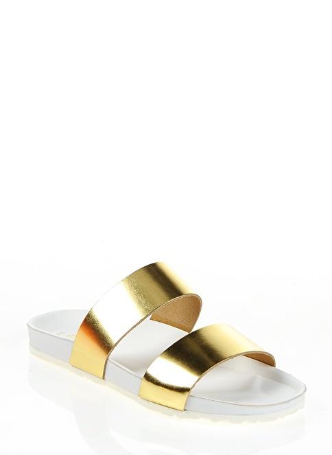 Pieces Terlik Altın